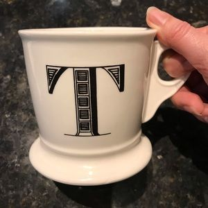 Anthropology Monogram Mugs J & T